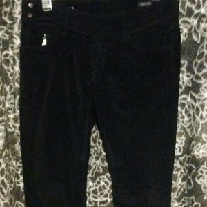Citizens of Humanity sz 26 Black Velour Pants